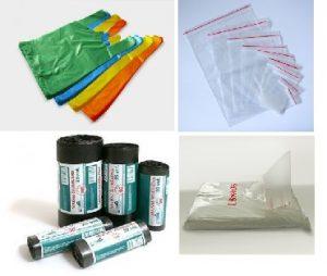 Šiukšlių, fasavimo, Mini-Zip maišai