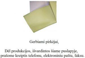 Banko atsiskaitymo dokumentacija